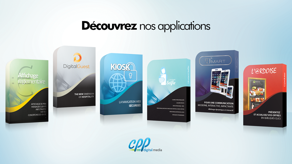 Applications CPP Digital Media