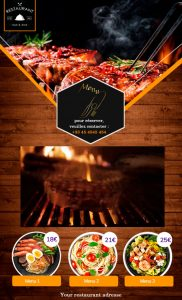 Carte interactive restaurant 2